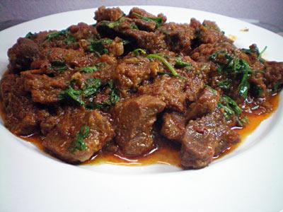 Goat Bhuna