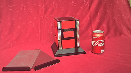 Zick-Zack Illusion mit Cola Dose