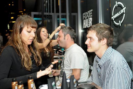 AXE Hair Salon Takeover Event