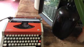 Paint on my Typewriter