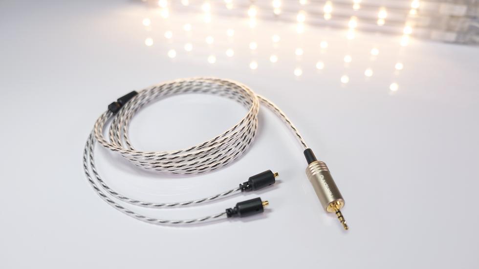 NSC25M-H ハイブリッドリッツワイヤーケーブル《MMCX / Φ2.5mm4極プラグ》