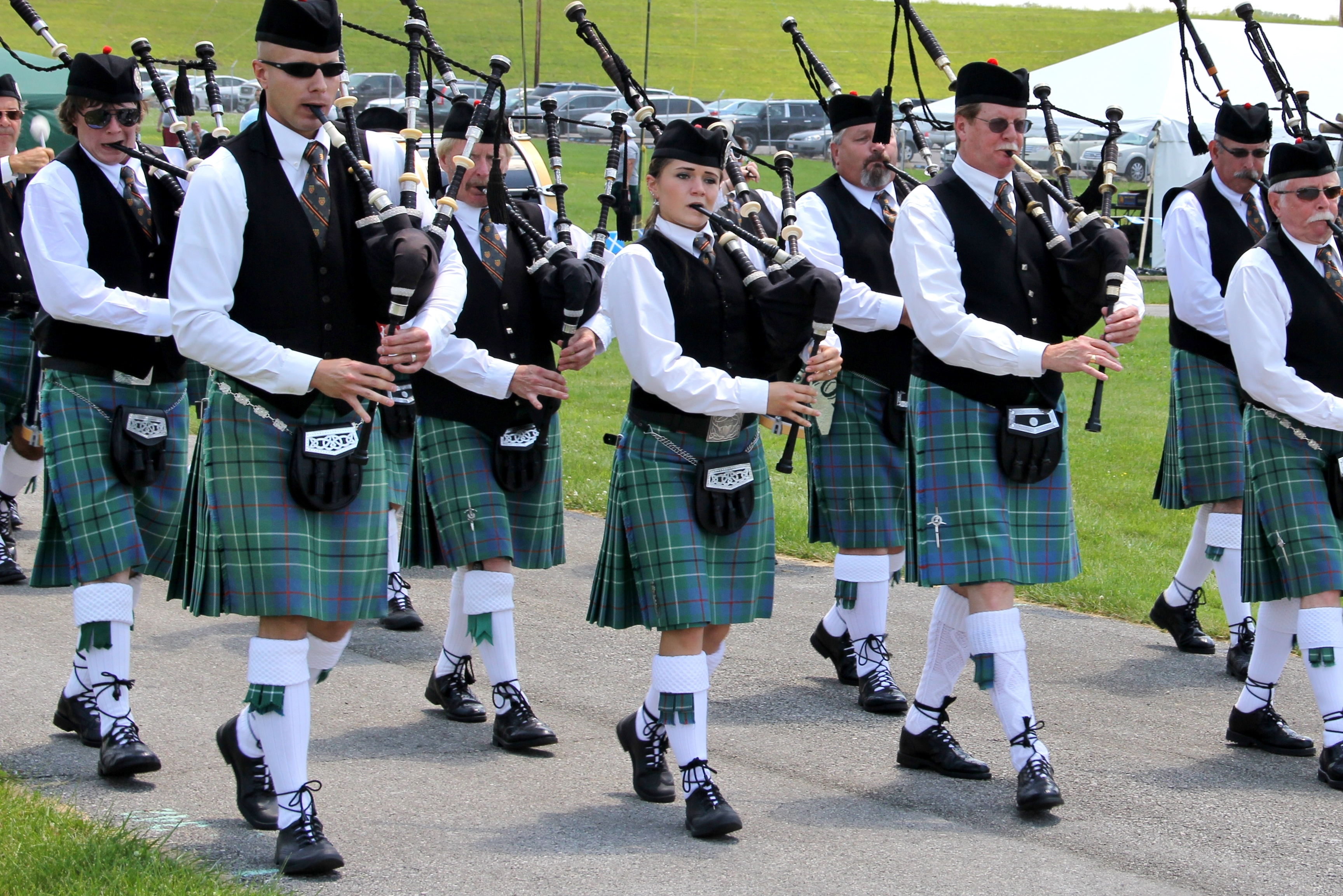 Pipe Bands competition