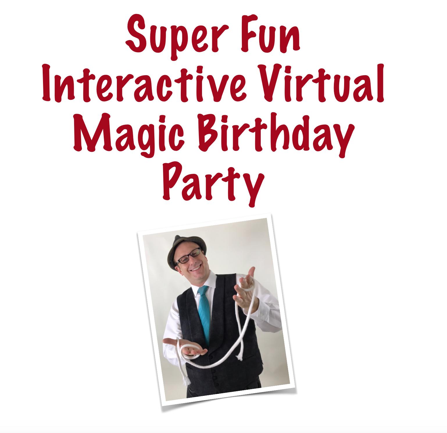 Virtual Interactive Magic Show