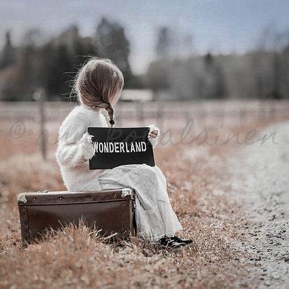 "Postikortti ""Wonderland"""