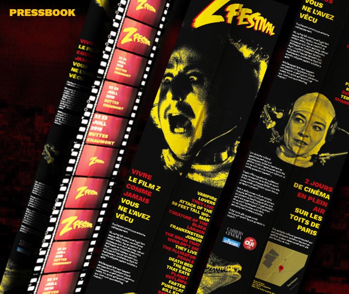 Z festival pressbook details