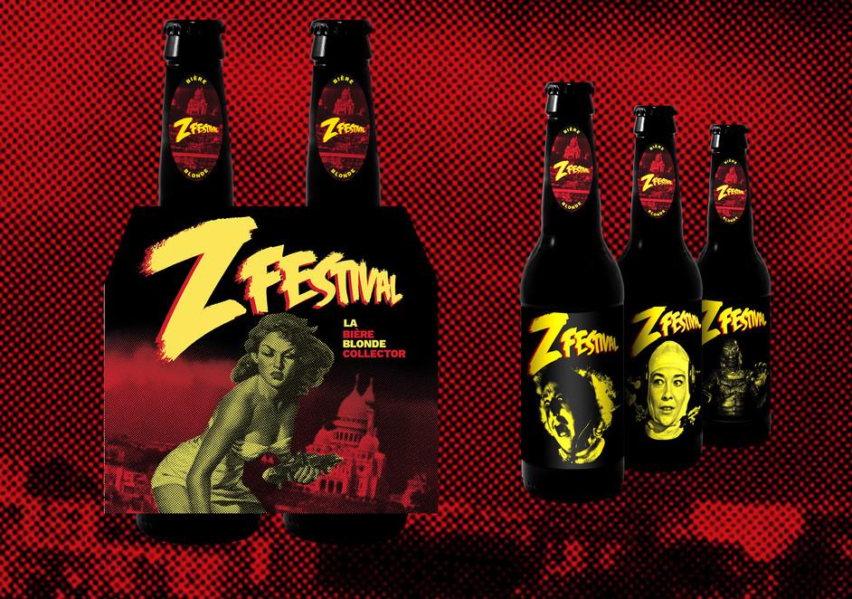 Z Festival collector beer pack