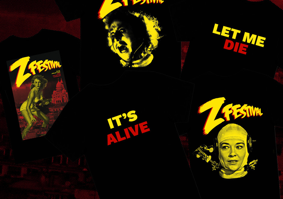 Z Festival tee shirts