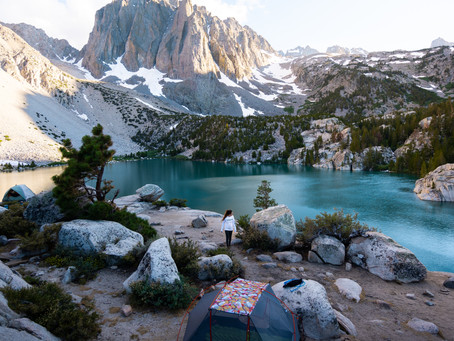 Backpacking Big Pine Lakes