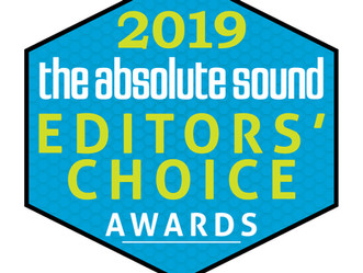 The Absolute Sound Editors' Choice Award 2019