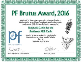 Brutus Award 2016