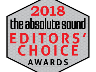 The Absolute Sound Editor's Choice award 2018
