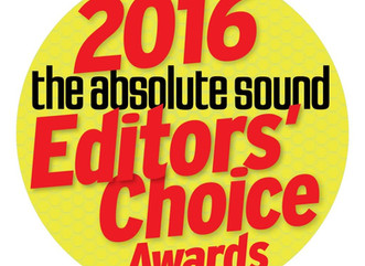 Editors' Choice Award from The Absolute Sound.