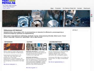 Mekinor Metall AB i Kalix väljer EQ Plan.