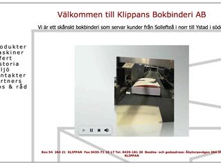 Klippans Bokbinderi AB väljer EQ Plan