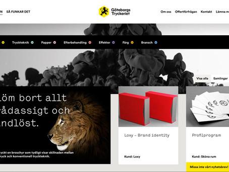 EQ Plan kopplas till Printvis hos Göteborgstryckeriet
