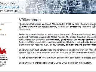 EQ Plan Stand-Alone till Skoglunds Mekaniska i Hjo.