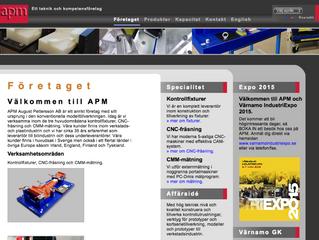 APM August Pettersson AB planerar sin produktion med EQ Plan.