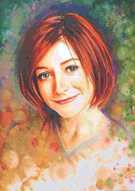 Willow Cross Stitch  Chart - Kit - Buffy the Vampire Slayer - Desbois