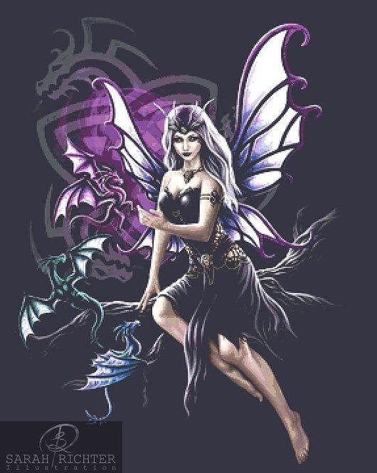Dragon Keeper Cross Stitch - Chart - Kit - Fantasy