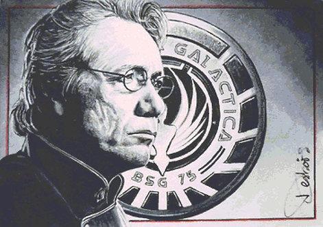 Battlestar Galactica Cross Stitch Chart - Kit  - Desbois