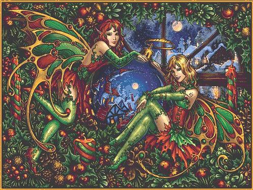 Christmas Fantasy XL Cross Stitch Chart PDF