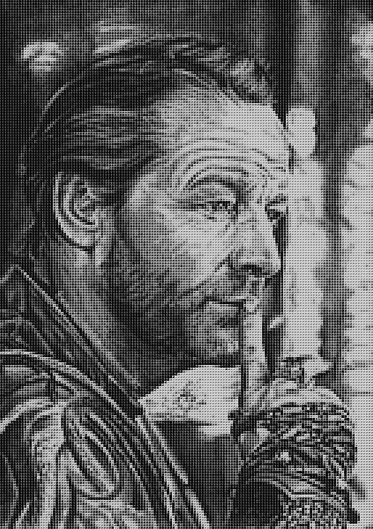 Jorah Mormont Cross Stitch Chart - Kit - Game of Thrones - Kupp