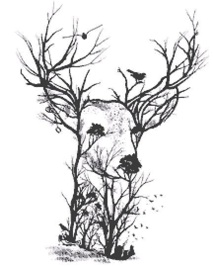 Deer Cross Stitch Chart PDF