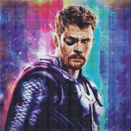 Thor Cross Stitch - Marvel - Avengers - Andrey