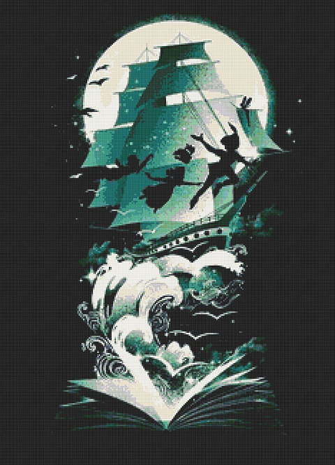 Peter Pan Cross Stitch Chart PDF