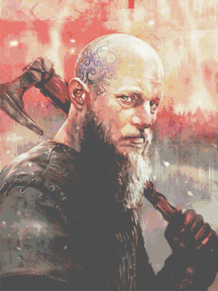 Ragnar Cross Stitch  Chart - Kit - Vikings