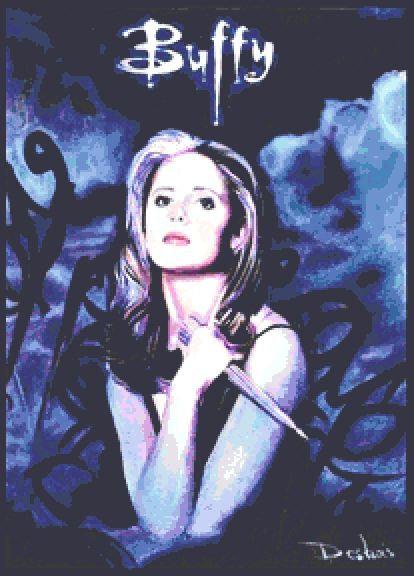 Buffy the Vampire Slayer Cross Stitch Chart PDF