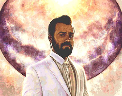 The Leftovers Cross Stitch Kit - Chart - Justin Theroux - Andrey