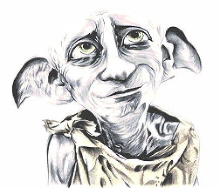 Dobby Cross Stitch Chart PDF Harry Potter