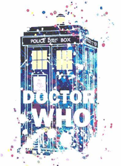Doctor Who Tardis Cross Stitch Kit