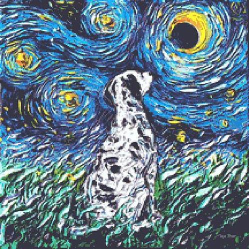 Dalmation Cross Stitch Chart - Kit - Dog