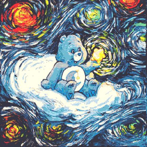 Care Bear Cross Stitch Chart - Kit