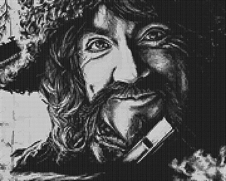 Bofur Cross Stitch Chart - Kit - Dwarf - The Hobbit - Kupp