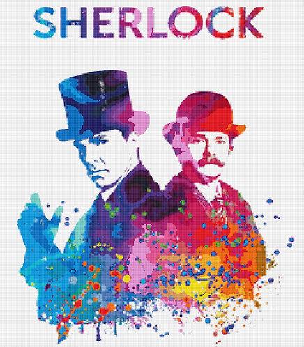 Sherlock Cross Stitch Chart - Kit - Sherlock Holmes - Benedict Cumberbatch