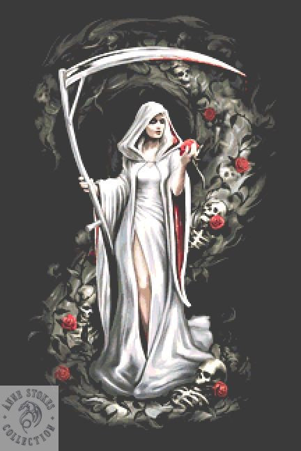 Life Blood  Cross Stitch  Kit - Anne Stokes