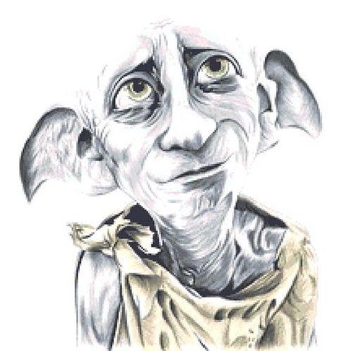 Dobby Cross Stitch  Kit - Harry Potter - House Elf