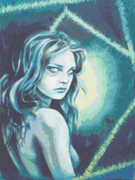 Eurydice Cross Stitch Chart  - Kit - Fantasy