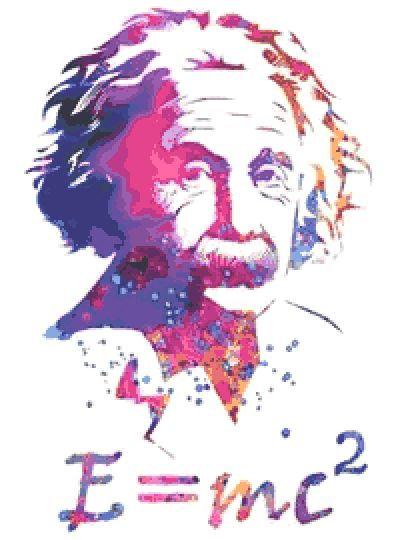 Einstein Cross Stitch Kit
