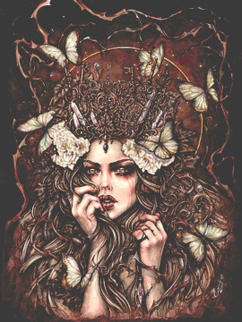 Forest Keeper Large Cross Stitch Chart PDF