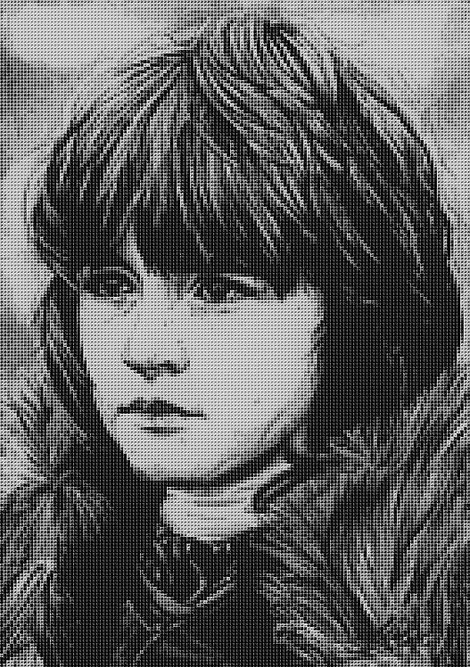 Bran Stark Cross Stitch Chart - Kit - Game of Thrones - Kupp