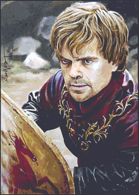 Code of Chivalry Cross Stitch Chart - Kit  - Game of Thrones - Tyrion - Desbois