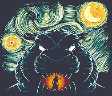 Starry Cave Cross Stitch  Chart - Kit - Djvigo