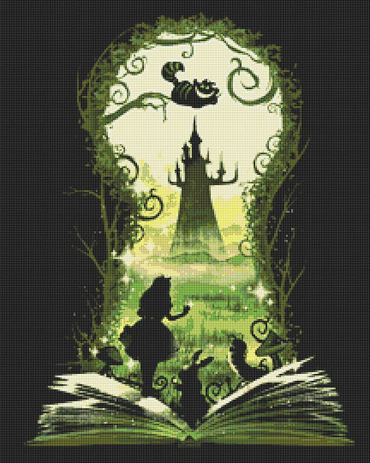 Alice in Wonderland Cross Stitch Chart PDF