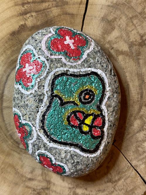 Le crâne, art Aztèque