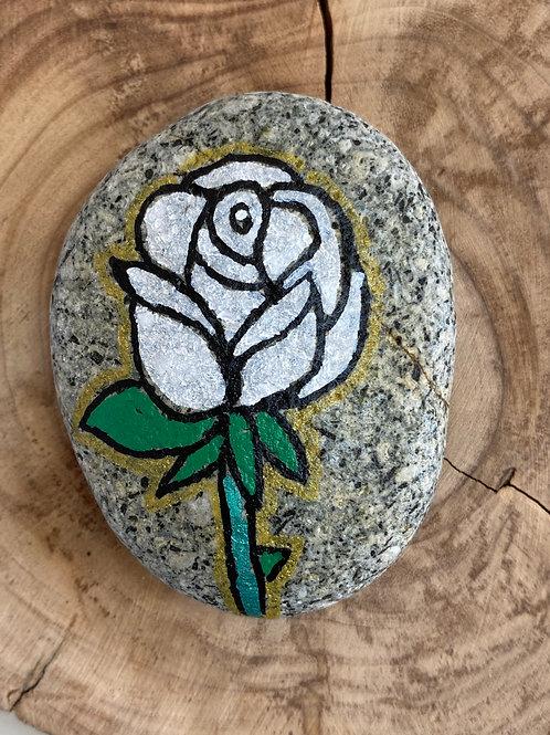 La rose blanche, pureté