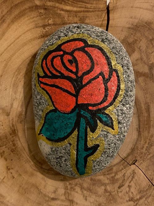 La rose rouge : Amour de ma vie